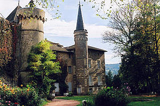 Le château de Lamartine à Saint-Point